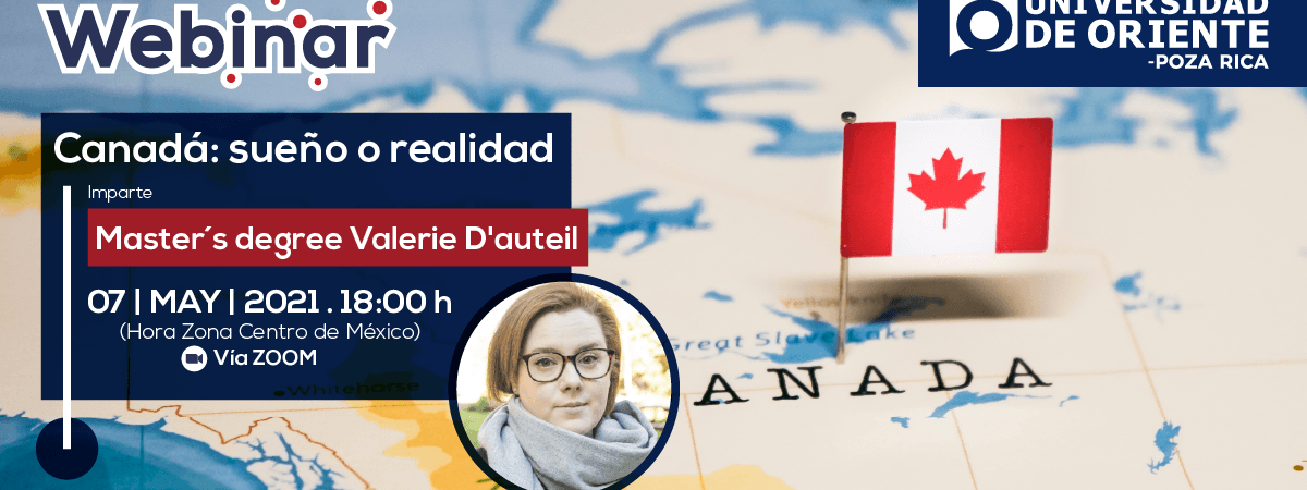 WEBINAR INTERNACIONAL Canadá: sueño o realidad