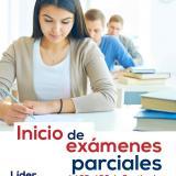Inicio de exámenes parciales