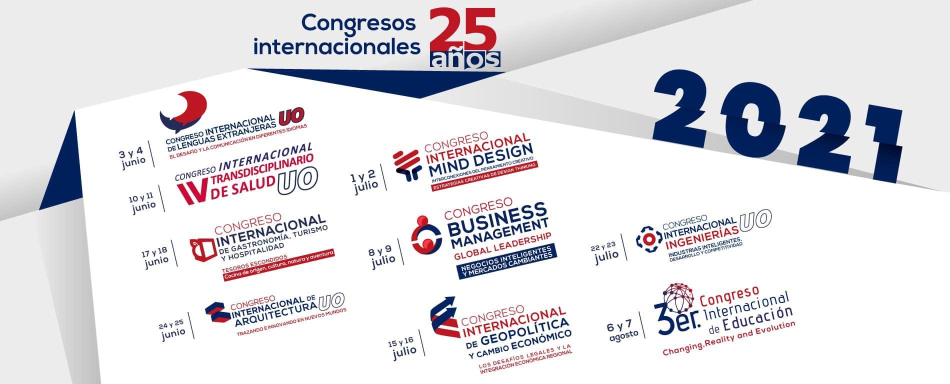 congresos internacionales universidad de oriente 2021