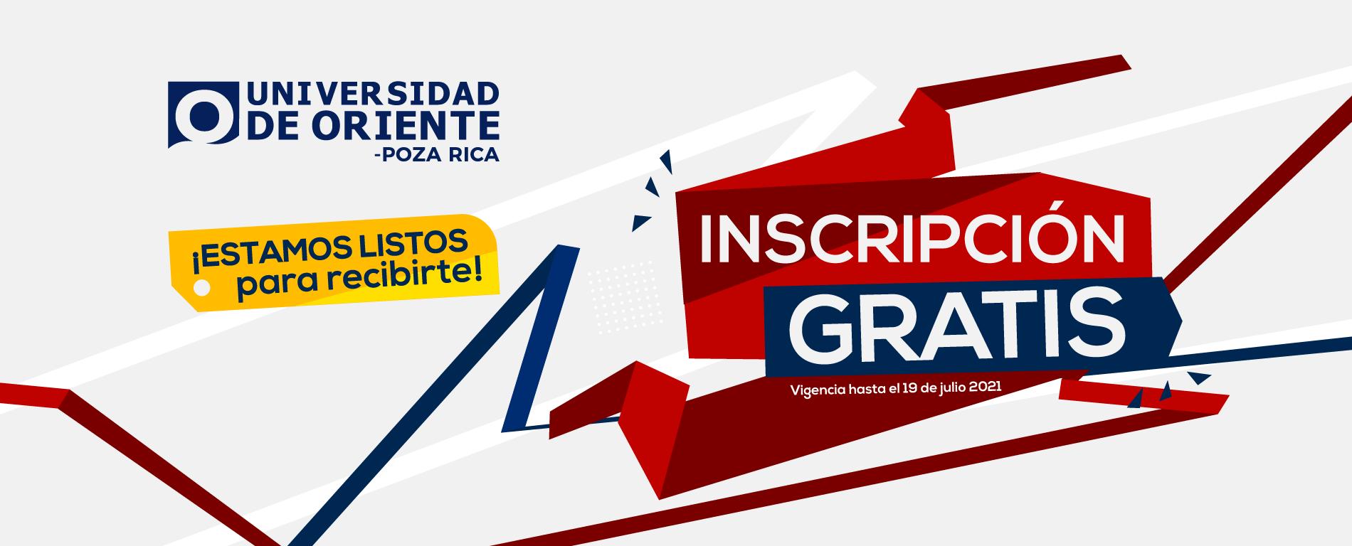 Inscripcion Gratis