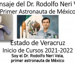 Mensaje Inicio de Cursos 2021- 2022 por parte del Dr. Rodolfo Neri Vela.