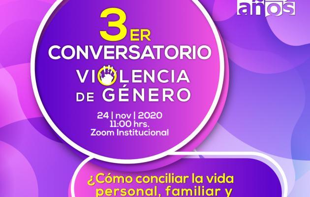3er Conversatorio Violencia de Género